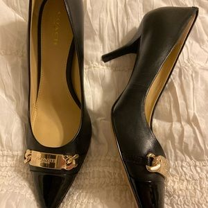 Coach heels never worn